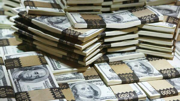 Доллары, архивное фото