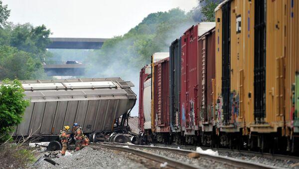 Железнодорожная авария в Мэриленде