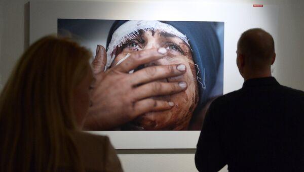 Открытие выставки World Press Photo