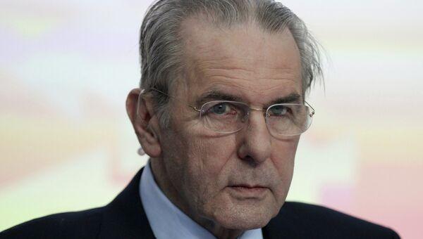 Председатель Международного олимпийского комитета Жак Рогге. Архив