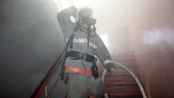 Тушение пожар. Архивное фото