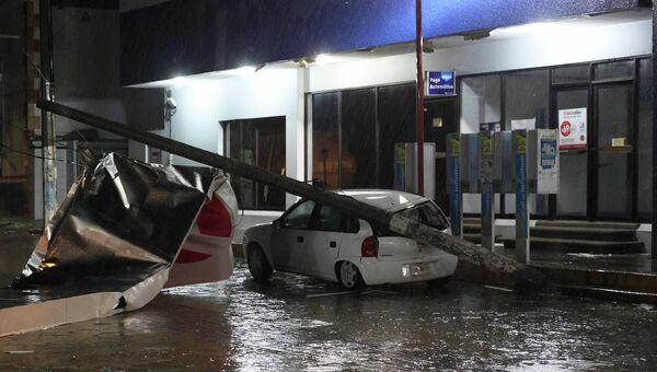 Ураган Барбара в Мексике