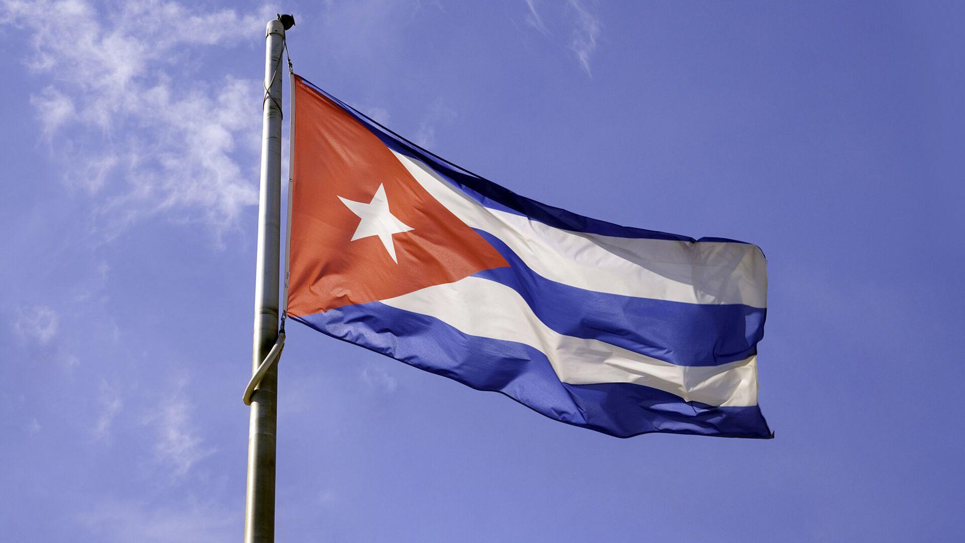 Флаг Кубы  - РИА Новости, 1920, 12.07.2021