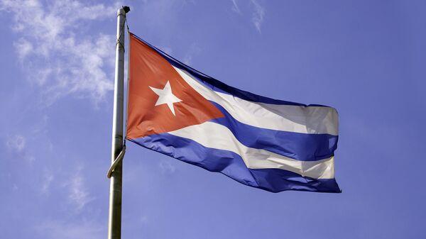 Флаг Кубы. Архивное фото