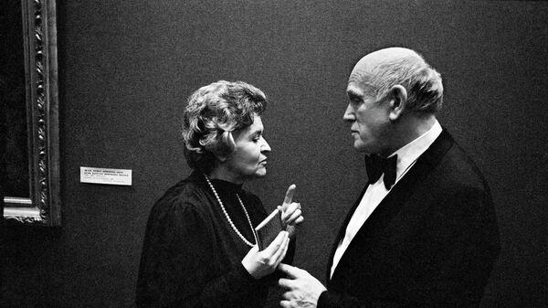 Ирина Антонова и Святослав Рихтер, архивное фото