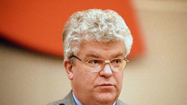 Постоянный представитель России при ЕС, заместитель министра иностранных дел РФ Владимир Чижов. Архив