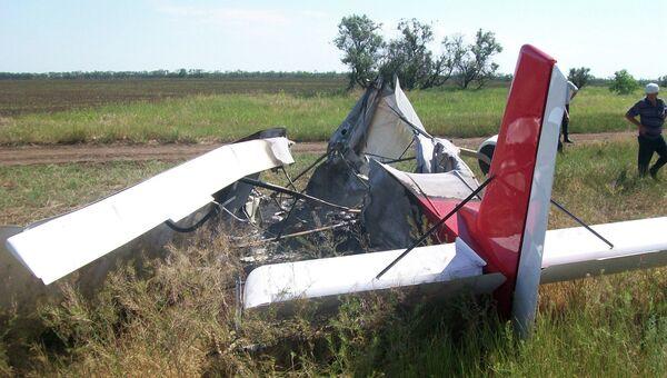 Крушение самолета в Ростовской области