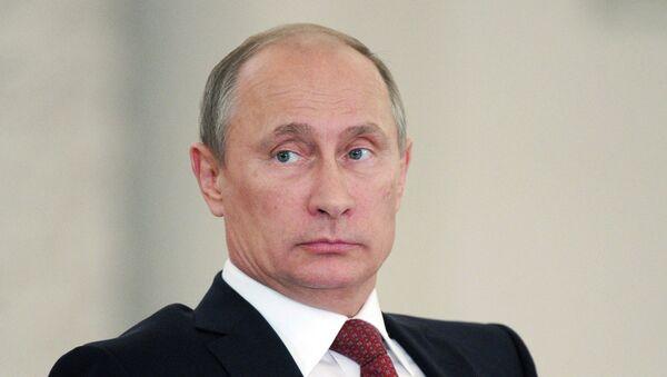 Президент РФ Владимир Путин проводит заседание Государственного совета в Кремле