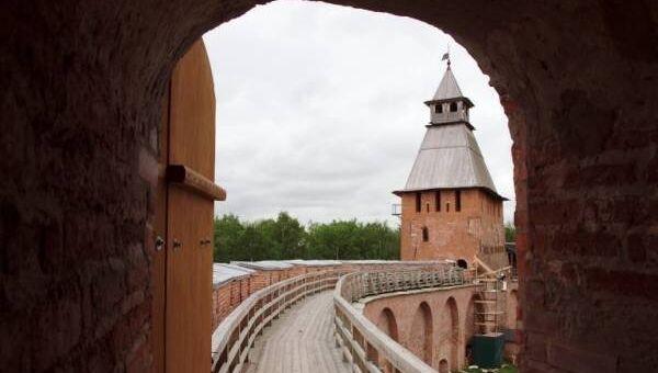 Боевой ход Новгородского кремля, архивное фото