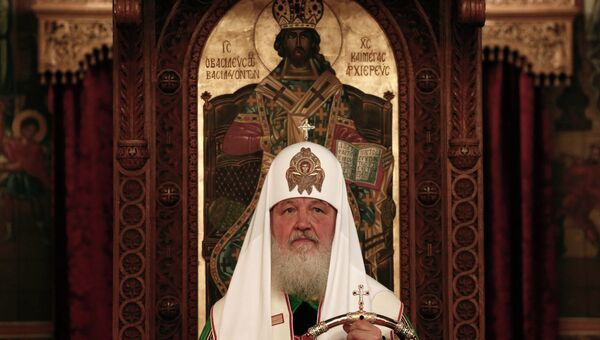 Патриарх Кирилл в Греции