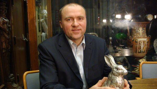 Александр Иванов  с серебряным зайцем