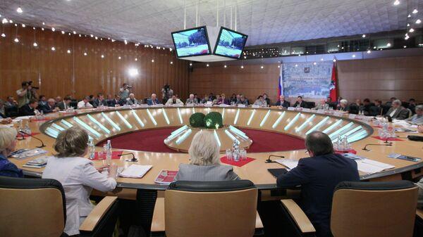 Общественная палата Москвы, архивное фото
