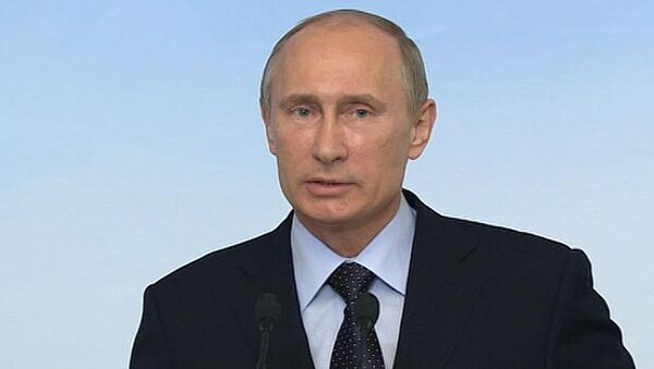 Путин об оружии для Сирии, однополых браках и уехавшем из РФ Гуриеве