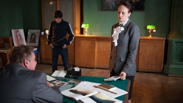 Кадр из фильма Жажда