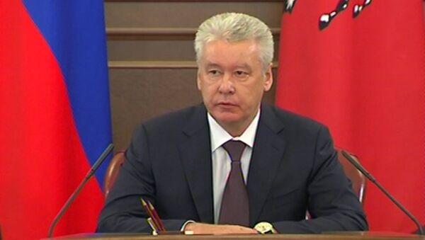 Собянин извинился за пожар в метро и призвал наказать виновных