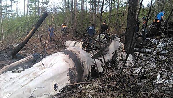 Вертолет Ми-8 разбился в Хабаровском крае