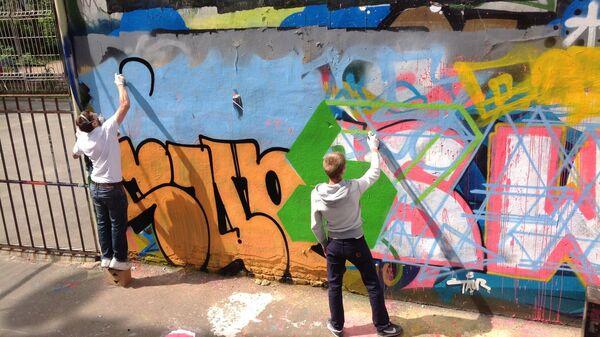 Художники граффити в Петербурге