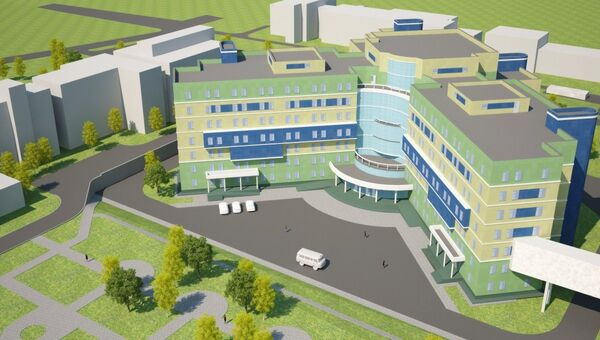 Проект перинатального центра в Новосибирске
