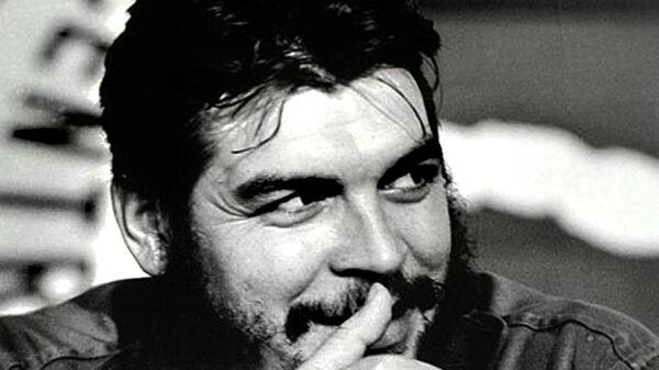 Кубинский революционер Эрнесто Че Гевара.Архив