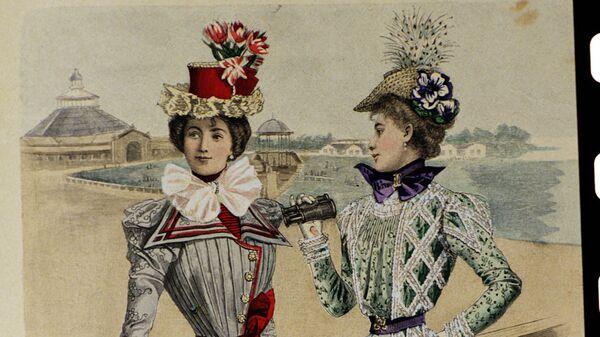 Мода в России конца 19 века