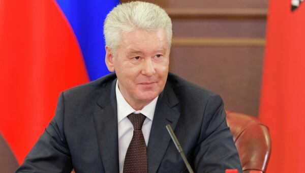 С.Собянин встретился с журналистами