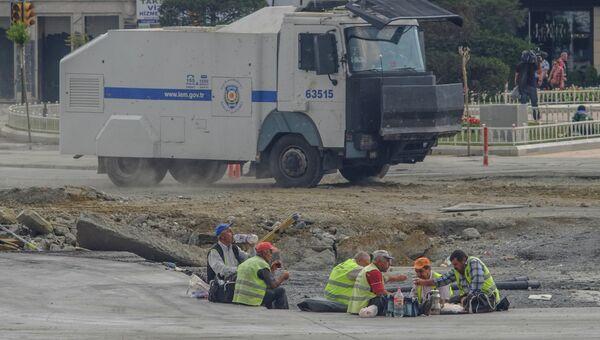 Беспорядки в Стамбуле. Архив