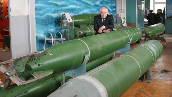 Председатель Научного совета по торпедному оружию Шамиль Алиев. Архивное фото