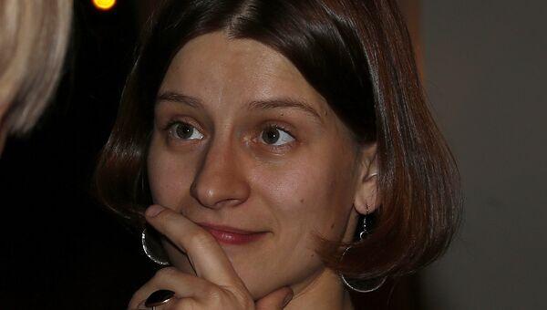 Журналист, телеведущая Ксения Чудинова