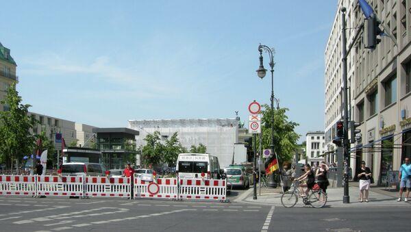 Парижская площадь у Бранденбургских ворот. Архивное фото