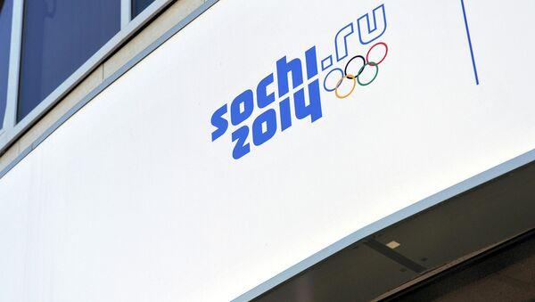 Символика XXII Олимпийских зимних игр в Сочи. Архивное фото