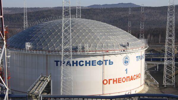 Нефтеперекачивающая станция ВСТО, архивное фото