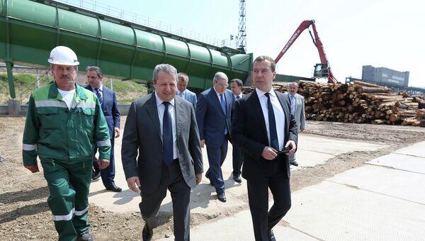 Рабочая поездка Д.Медведева в Братск