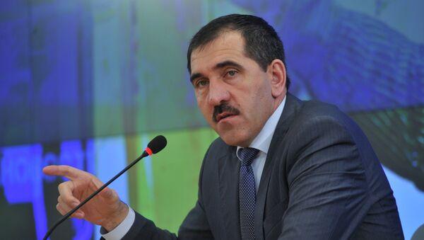 Пресс-конференция главы Республики Ингушетия Юнус-Бека Евкурова