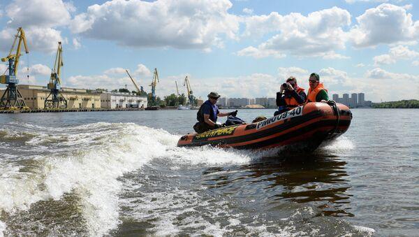 Открытие водного патруля Гринпис России по рекам