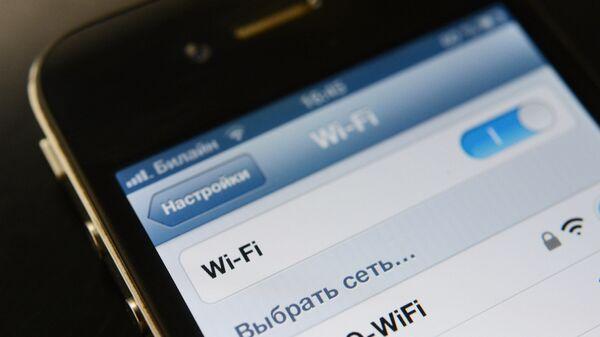 Настройка Wi-Fi на телефоне Apple iPhone 4. Архивное фото