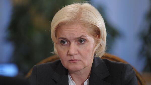 Вице-премьер РФ по социальным вопросам Ольга Голодец. Архивное фото