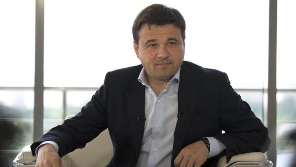 Кандидат в губернаторы Подмосковья Андрей Воробьев