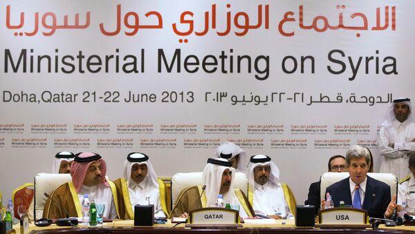 Конференция Друзей Сирии в Катаре