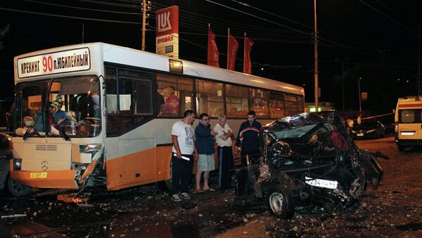 Крупное ДТП в Кировском районе с участием 37 машин