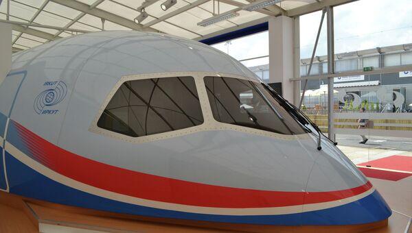 Макет самолета Иркут МС-21, архивное фото