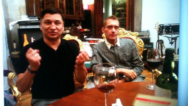 Олег Цветков и Георгий Гурьянов