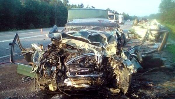 В Ярославской области в ДТП погибло 7 человек