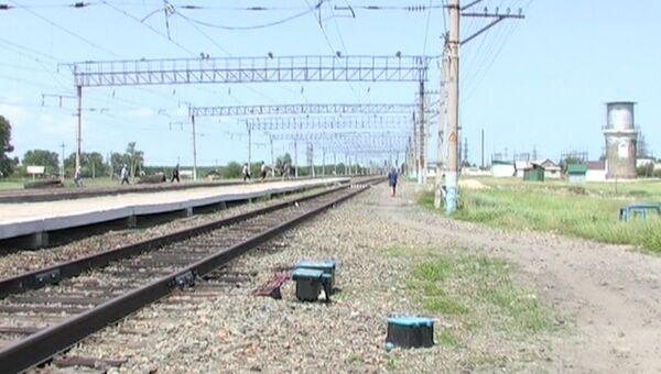 Станция Мухинская в Амурской области, где локомотив сбил пятерых железнодорожников