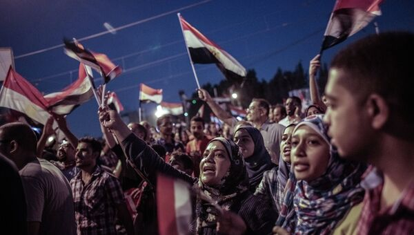 Массовые акции в Каире