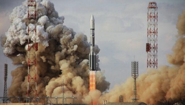 Пуск ракеты Протон-М. Архивное фото
