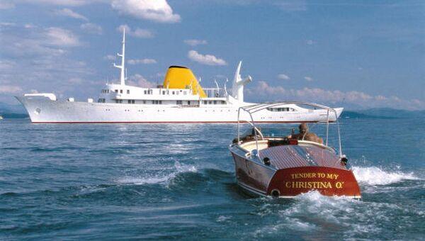 Яхта Christina O