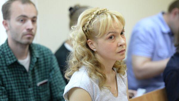 Бывший шеф-редактор информационного агентства Ура.ру Аксана Панова. Архивное фото.