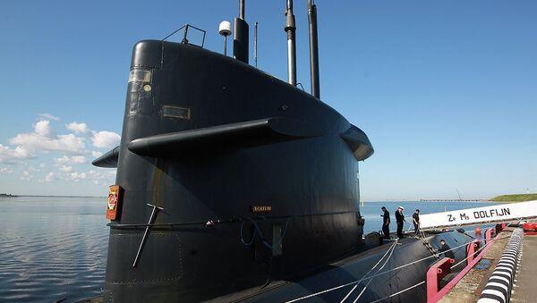 Голландская дизель-электрическая подводная лодка Hr.Ms. Dolfijn на МВМС в Петербурге