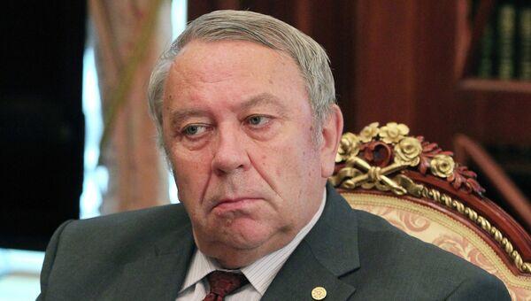 Глава РАН Владимир Фортов, архивное фото