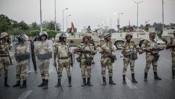 Египетская армия. Архивное фото